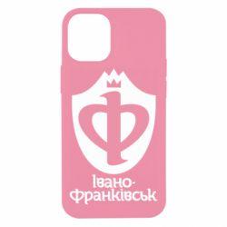 Чехол для iPhone 12 mini Ивано-Франковск эмблема