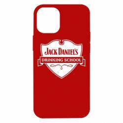 Чехол для iPhone 12 mini Jack Daniel's Drinkin School