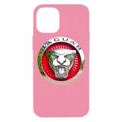 Чехол для iPhone 12 mini Jaguar emblem