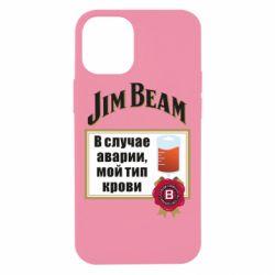 Чохол для iPhone 12 mini Jim beam accident