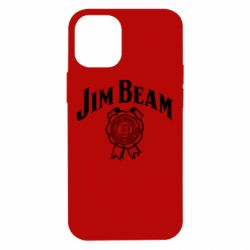 Чохол для iPhone 12 mini Jim Beam logo