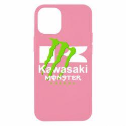 Чохол для iPhone 12 mini Kawasaki Monster Energy