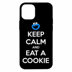 Чехол для iPhone 12 mini Keep Calm and Eat a cookie