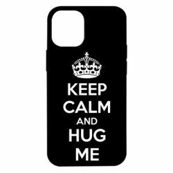 Чохол для iPhone 12 mini KEEP CALM and HUG ME