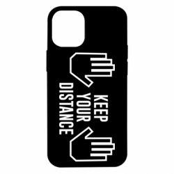 Чохол для iPhone 12 mini Keep your distance