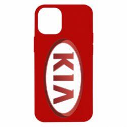 Чохол для iPhone 12 mini KIA 3D Logo