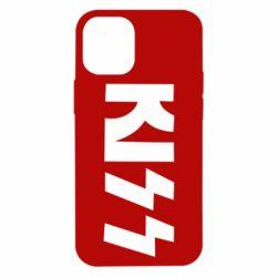 Чехол для iPhone 12 mini Kiss Logo