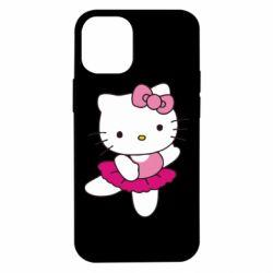 Чехол для iPhone 12 mini Kitty балярина