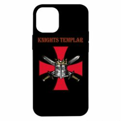 Чохол для iPhone 12 mini Knights templar helmet and swords