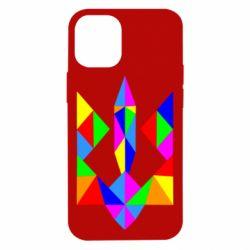 Чехол для iPhone 12 mini Кольоровий герб