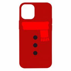 Чохол для iPhone 12 mini Костюм сніговика