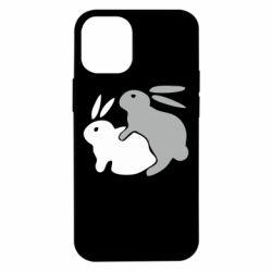 Чохол для iPhone 12 mini Кролики