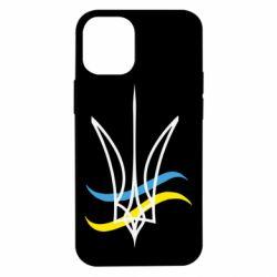 Чохол для iPhone 12 mini Кумедний герб України