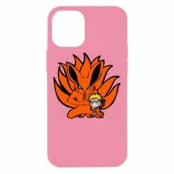 Чохол для iPhone 12 mini Kurama And Naruto