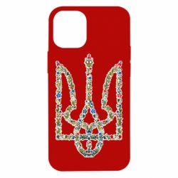 Чехол для iPhone 12 mini Квітучий герб України