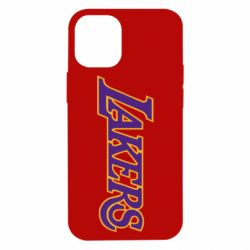 Чохол для iPhone 12 mini LA Lakers