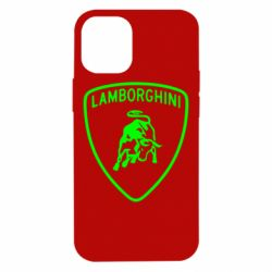 Чехол для iPhone 12 mini Lamborghini Auto