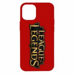 Чехол для iPhone 12 mini League of legends logo