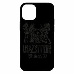Чехол для iPhone 12 mini Led-Zeppelin Art