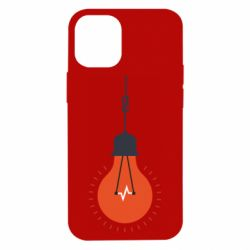 Чехол для iPhone 12 mini Light bulb vector