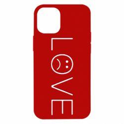 Чохол для iPhone 12 mini lil peep: love