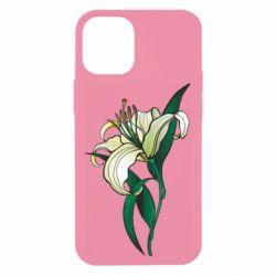 Чохол для iPhone 12 mini Lily flower