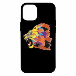 Чехол для iPhone 12 mini Lion multicolor