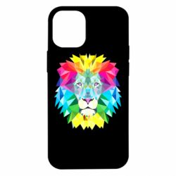 Чохол для iPhone 12 mini Lion vector