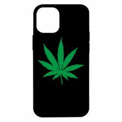 Чохол для iPhone 12 mini Листочок марихуани