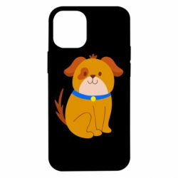 Чехол для iPhone 12 mini Little funny dog