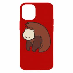Чехол для iPhone 12 mini Little monkey
