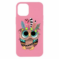 Чохол для iPhone 12 mini Little owl with feathers