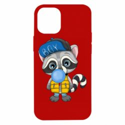 Чехол для iPhone 12 mini Little raccoon