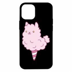 Чехол для iPhone 12 mini Llama Ice Cream