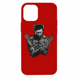 Чехол для iPhone 12 mini Logan Wolverine vector