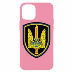 Чехол для iPhone 12 mini Логотип Азов