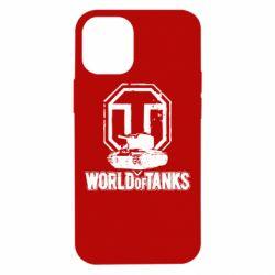 Чехол для iPhone 12 mini Логотип World Of Tanks