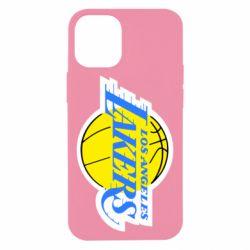 Чехол для iPhone 12 mini Los Angeles Lakers