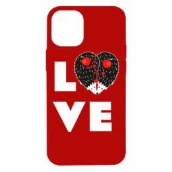Чохол для iPhone 12 mini LOVE hedgehogs