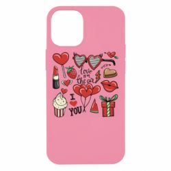 Чохол для iPhone 12 mini Love is in the air