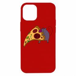 Чехол для iPhone 12 mini Love Pizza 2