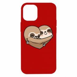 Чохол для iPhone 12 mini Love sloths