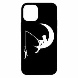Чехол для iPhone 12 mini Мальчик рыбачит