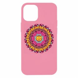 Чехол для iPhone 12 mini Mandala Cats