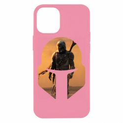 Чехол для iPhone 12 mini Mandalorian Helmet