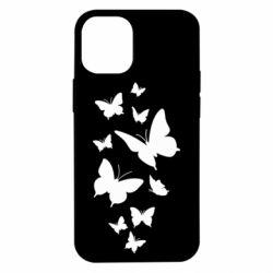 Чохол для iPhone 12 mini Many butterflies