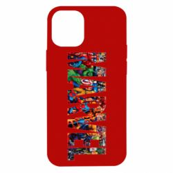 Чехол для iPhone 12 mini Marvel comics and heroes