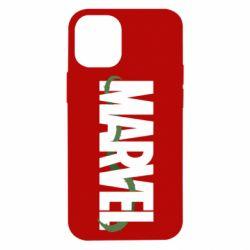 Чехол для iPhone 12 mini Marvel logo and vine