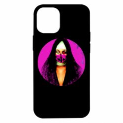 Чехол для iPhone 12 mini Masked nun