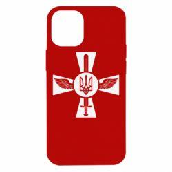 Чехол для iPhone 12 mini Меч, крила та герб